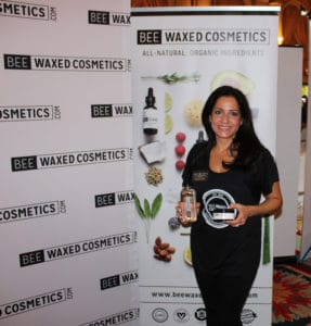 BEE WAXED COSMETICS at the emmys